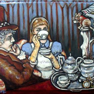 Art: The Mad Tea by Artist Patience