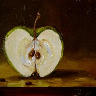 Art: Granny Smith Apple by Artist Delilah Smith