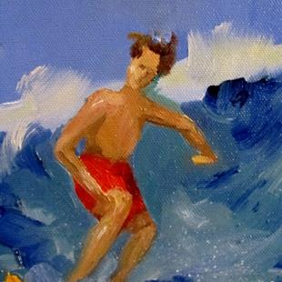 Art: Surfs Up-sold by Artist Delilah Smith