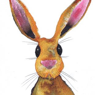 Art: HARE h3047 by Artist Dawn Barker