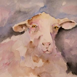 Art: Irish Sheep by Artist Delilah Smith