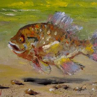 Art: Bluegill by Artist Delilah Smith