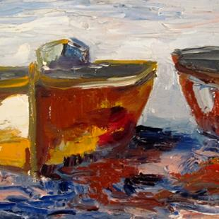 Art: Boats by Artist Delilah Smith