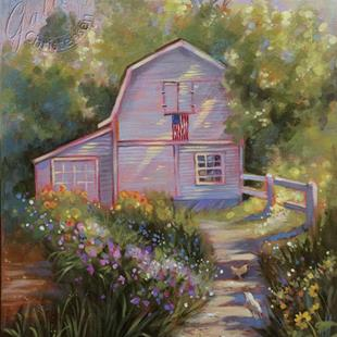 Art: A Blessed Day by Artist Patricia  Lee Christensen