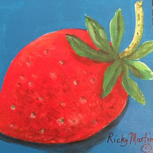Art: Strawberry by Artist Ulrike 'Ricky' Martin