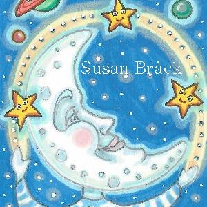 Art: STAR JUGGLER by Artist Susan Brack