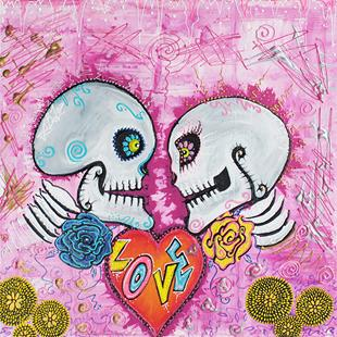 Art: Love Story by Artist Laura Barbosa