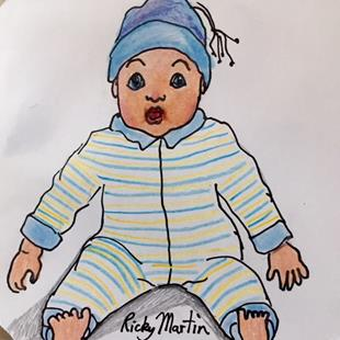 Art: Baby Doll by Artist Ulrike 'Ricky' Martin