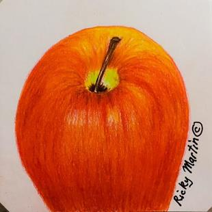 Art: Apple by Artist Ulrike 'Ricky' Martin