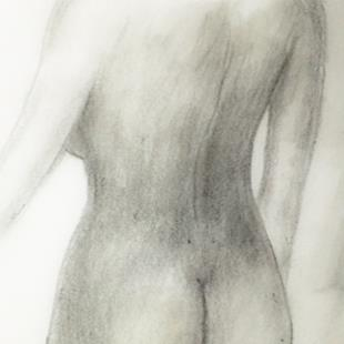 Art: Female Nude by Artist Ulrike 'Ricky' Martin