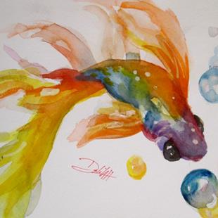 Art: Fish No. 2 by Artist Delilah Smith