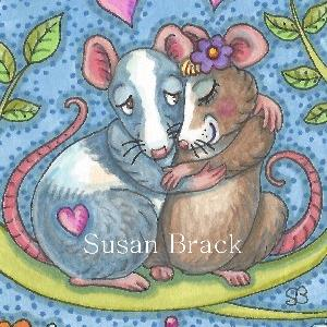 Art: ANIMAL ATTRACTION Mice by Artist Susan Brack