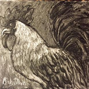 Art: Rooster by Artist Ulrike 'Ricky' Martin