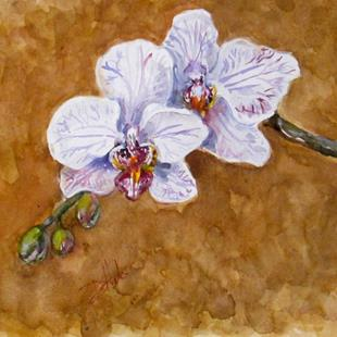 Art: Orchids by Artist Delilah Smith