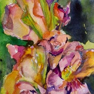 Art: Gladiolus by Artist Delilah Smith