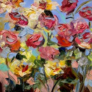 Art: Joyful Garden by Artist Delilah Smith