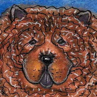 Art: Cinnamon Bear by Artist Melinda Dalke