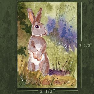 Art: ACEO - On The Lookout by Artist Patricia  Lee Christensen
