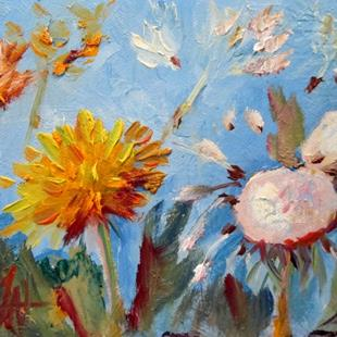 Art: Dandelion Summer-sold by Artist Delilah Smith
