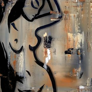 Art: Original Abstract Art Sensual Movement by Artist Thomas C. Fedro