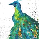 Art: Peacock  - sold by Artist Ulrike 'Ricky' Martin