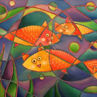 Art: Catfish by Artist Lindi Levison