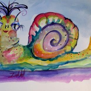 Art: Snail No. 3 by Artist Delilah Smith