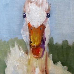 Art: Duck by Artist Delilah Smith