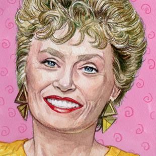 Art: Blanche Devereaux by Artist Mark Satchwill