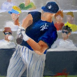 Art: Spring Training by Artist Delilah Smith