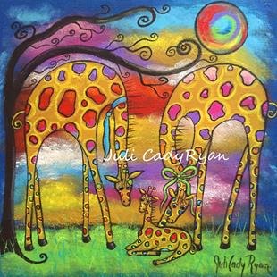 Art: Welcoming Day by Artist Juli Cady Ryan
