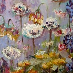 Art: Dandelions-sold by Artist Delilah Smith