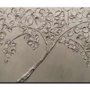 Art: SILVER TREE by Artist Kate Challinor