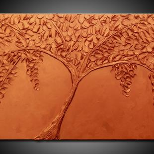 Art: COPPER TREE by Artist Kate Challinor