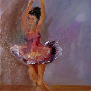 Art: Ballerina by Artist Delilah Smith