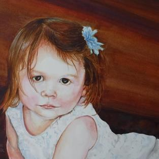Art: Alice by Artist Catherine Darling Hostetter