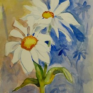 Art: Daisies by Artist Delilah Smith