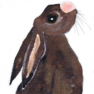 Art: HARE h3309 by Artist Dawn Barker