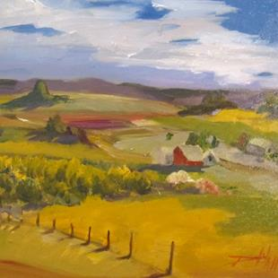 Art: The Farm by Artist Delilah Smith