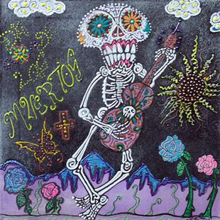 Art: Tune Of Los Muertos by Artist Laura Barbosa