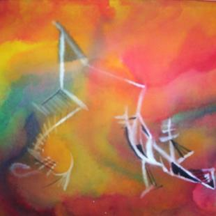 Art: The Dance - sold by Artist Gallery Elite