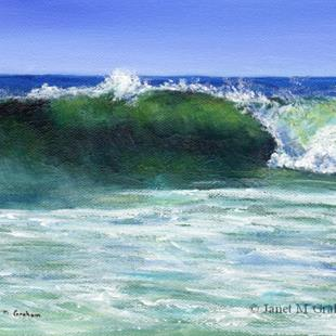 Art: The Wave by Artist Janet M Graham