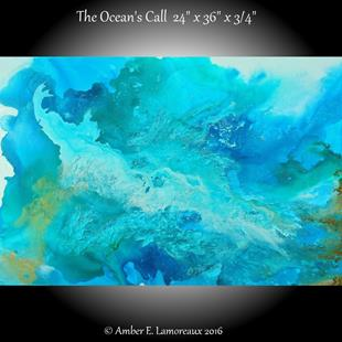 Art: The Ocean's Call (sold) by Artist Amber Elizabeth Lamoreaux