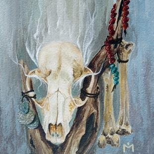Art: Bone Magic by Artist Amanda Makepeace