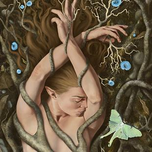 Art: Forest Dreams by Artist Amanda Makepeace