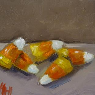 Art: Candy Corn by Artist Delilah Smith