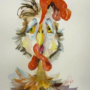 Art: Chicken Ryan-sold by Artist Delilah Smith