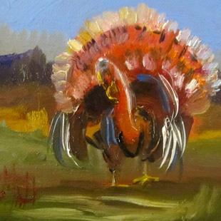 Art: Turkey by Artist Delilah Smith