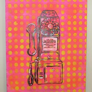 Art: Telephone Pop by Artist Paul Lake, Lucky Studios