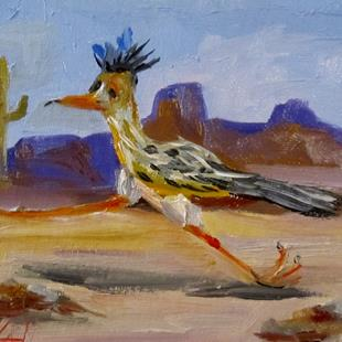 Art: Road Runner by Artist Delilah Smith